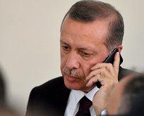 Başkan'dan AA'ya geçmiş olsun telefonu