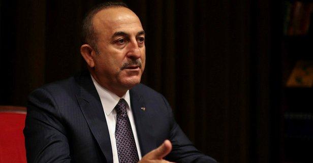 Dışişleri Bakanı Çavuşoğlu Hollanda'da