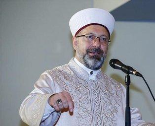 Diyanet İşleri Başkanı Ali Erbaş'tan 'İstanbul işgal edildi' diyen Mısırlı müftüye cevap!