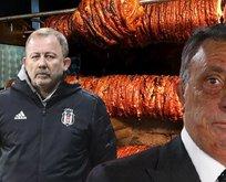 Ahmet Nur Çebi ile Sergen maç önccesi kokoreç yedi