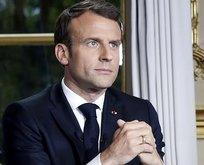 Macron, PKK'lıları Elysee Sarayı'nda ağırladı