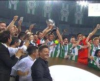 Kupaların kupası Konyasporun