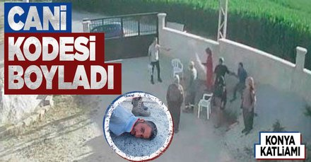 Konya katliamının faili tutuklandı!