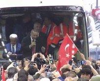 Cumhurbaşkanı Erdoğan Ovit Tüneli'ni açtı