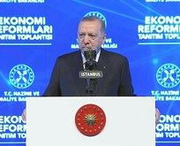 Başkan Erdoğan Ekonomi Reform Paketi'ni açıkladı