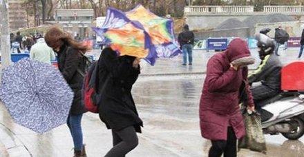Meteoroloji'den son dakika uyarı! Kuvvetli fırtına geliyor