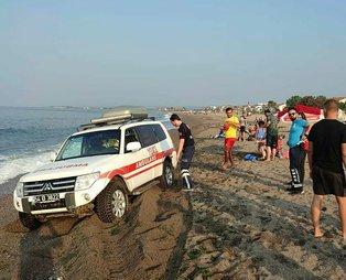 Sakarya Karasu'da denize girenlerde kaşınma başlayınca sahil boşaltıldı!30'dan fazla kişi hastanelik oldu