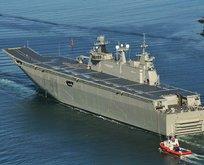 Türkiye'nin ilk uçak gemisine CHP'den itiraz!