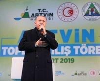 Başkan Erdoğan görüntüleri izletip parmağıyla işaret etti! İşte baş terörist...