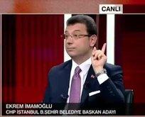 CHP'li İmamoğlu'nun maskesi düştü