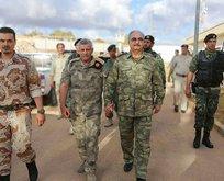 Hafter bir avuç askeriyle Türkiye'yi tehdit etti