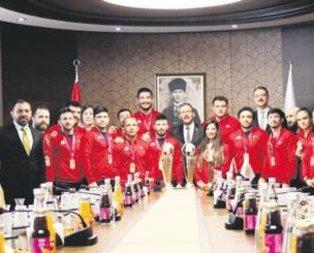 Başkan Erdoğan'a şükran borçluyuz