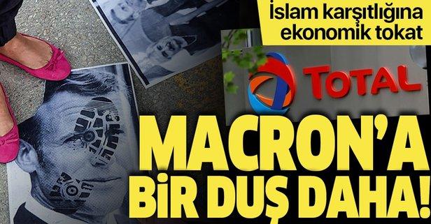 İslam düşmanı Macron'a Libya'dan soğuk duş!