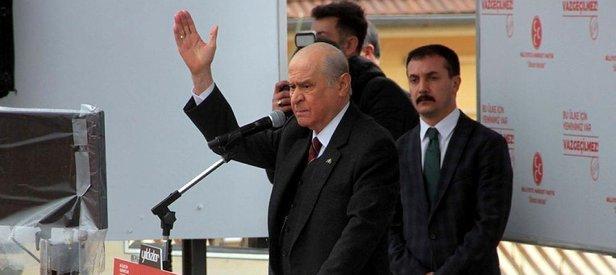 Bahçeli'den Kılıçdaroğlu'na sert eleştiri!