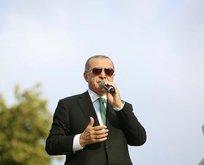 Başkan Erdoğandan ABDye bir rest daha