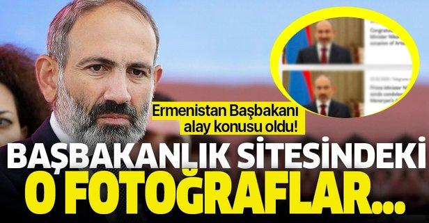 Ermenistan Başbakanı'nın o fotoğrafları olay oldu!