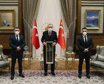 Başkan Erdoğan, Viyana kahramanlarını kabul etti