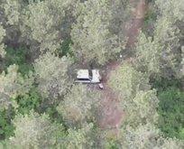 Yasak dinlemeden piknik yaptılar! Drone ile tespit edildiler!