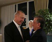 Erdoğan'ın Azerbaycan'da temasları sürüyor