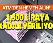 ATM'den hemen alınabiliyor! SSK-SGK ve Bağkur'luya 500, 625, 750, 1.100 ve 1.300 lira veriliyor