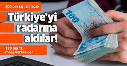 Çin, Türkiye'yi radarına aldı! 100 bin kişi alacaklar, 170 bin TL maaş verecekler