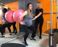 Gebe pilatesiyle anne adayları doğuma hazırlanıyor