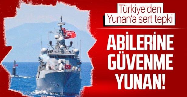Türkiye'den Yunan Dostluk Forumu'na sert tepki
