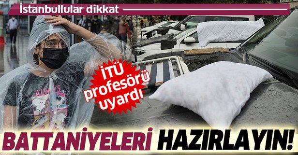 İstanbul'a kritik dolu uyarısı! 'Radarı takip edin'