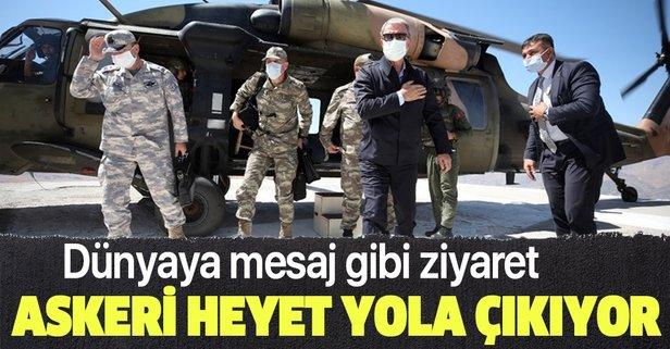 Türk askeri heyeti Azerbaycan'a geliyor