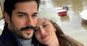 Kuruluş Osman'ın yıldızı Burak Özçivit ile eşi Fahriye Evcen'den yeni paylaşım! 'Hayat Eve Sığar' dediler...
