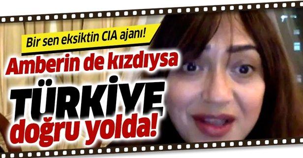 PKK ve FETÖ sevici Amberin Zaman'dan ABD'ye Barış Pınarı tepkisi!