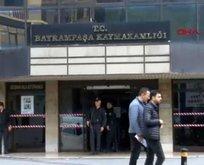 Bayrampaşa'da kaymakamlık binasında intihar girişimi