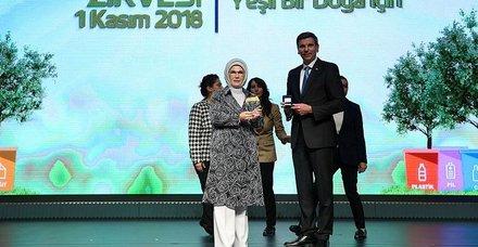 Atıksız Türkiye'ye ödül