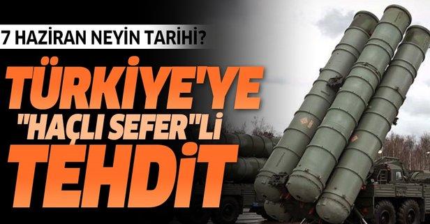 Türkiye'ye 'Haçlı sefer'li tehdit!