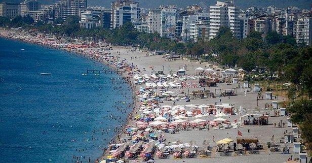 Antalya turizmi doludizgin