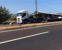 Dev uçak İstanbul'dan Muğla'ya karayoluyla taşındı