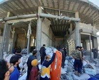 El Bab'da bombalı saldırı! İlk görüntüler geldi