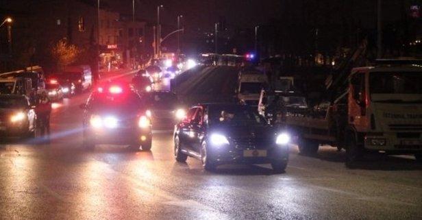 Başkan Erdoğan İstanbul'a geldi