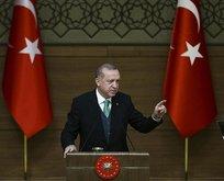 Cumhurbaşkanı Erdoğandan kritik Afrin mesajı