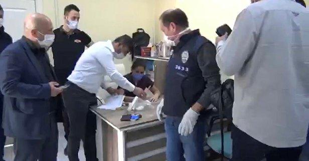 'Kaçak muayenehane' operasyonu: 6 gözaltı