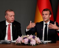 Macron'dan Başkan Erdoğan'a mektup