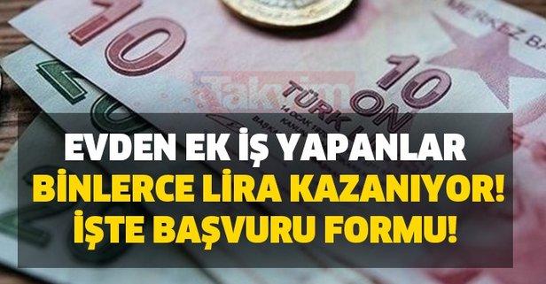 Evden çalışın binlerce lira kazanın!