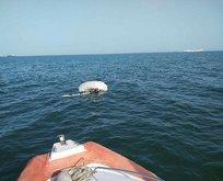 Yasağı delerek denize girdi! Az kalsın canından oluyordu!