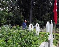Başkan Erdoğan'dan kabir ziyaretleri