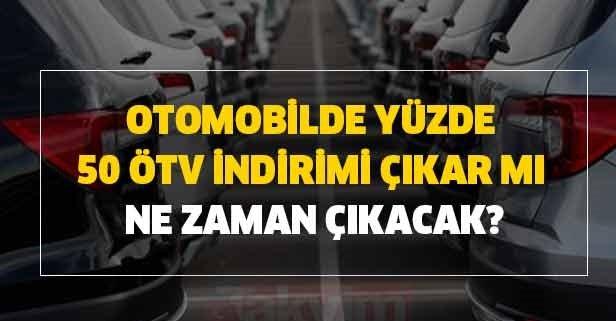 1 Temmuz 2020 tarihi itibariyle ÖTV indirimi yapılacağı iddia edildi!