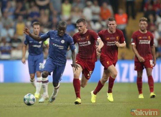 Liverpool-Chelsea Süper Kupa finalinde skandal hata!