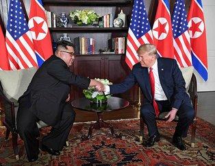 ABD- Kuzey Kore zirvesi! Trump ve Kim'den tarihi buluşma
