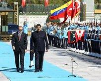Başkan Erdoğan'dan Maduro'ya destek telefonu