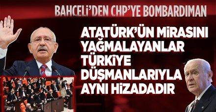 Son dakika: Devlet Bahçeli'den CHP'ye tezkere tepkisi