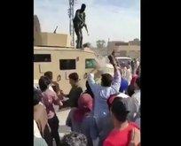 PKK/PYD'li teröristler ateş açtı